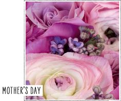 Mother's Day floral detail.