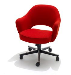 this saarinen office chair by knoll would be a great vintage piece for the office chair mid century office