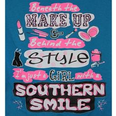 Belle Southern Hilarious Quotes | Girlie Girl Originals - Southern Smile - Color Royal T-Shirts - Gray ...