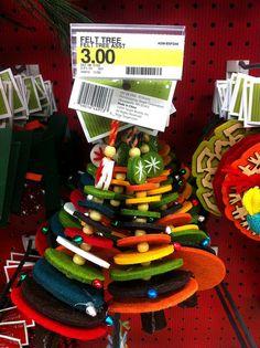 Target felt tree.... sounds like a DIY project to me....