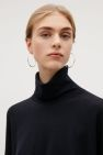 COS image 6 of Large hoop earrings in Silver Cuff Earrings, Silver Hoop Earrings, Cos Fashion, Rose Gold Plates, Jewelry Collection, Women Jewelry, Jewellery, Image, Jewels