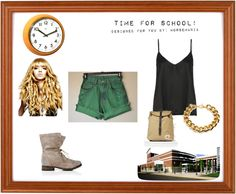 """""""What to wear to school. Part 8"""" by horsemania ❤ liked on Polyvore"""