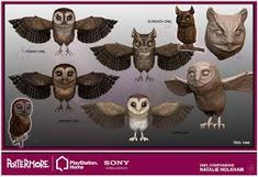 Image result for owl 3d rigged