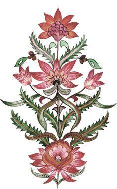 Natural Flora V Keilrahmen-Bild Leinwand Blumen Natur Landhaus Holz Danhui Nai
