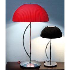 Buenos dias! Esta mañana os presento estas lamparas de mesa con un original diseño con tulipa de tela encintada.  #light #tendencia #instagood #casa #design #diseño #interiorismo #interiordesign #luz #week #work