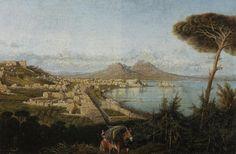 Consalvo Carelli (1818-1910) - Napoli, veduta del Golfo | by Occhio Fantastico
