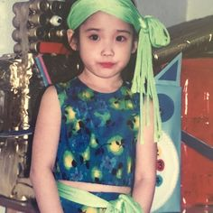IU is an A-class celebrity and Korea's adorable little sister all rolled into one. Suzy, Iu Twitter, Straight Black Hair, Childhood Photos, Childhood Days, Wattpad, Kdrama Actors, Queen, Korean Singer