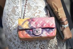 Pin for Later: 150+ Looks to Inspire Your Best Dressed Summer Yet  A classic Chanel purse is Summer ready with a colorful update.