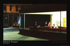 Nachtschwärmer, ca. 1942 Kunstdrucke von Edward Hopper - AllPosters.at