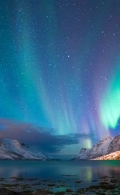 Aurora Borealis across Norway - - . - What is the Aurora Borealis? Beautiful Sky, Beautiful Landscapes, Beautiful World, Galaxy Wallpaper, Nature Wallpaper, Landscape Photography, Nature Photography, Night Photography, Landscape Photos