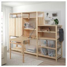 Office Furniture, Diy Furniture, Furniture Design, Ikea Samla, Diy Home Decor, Room Decor, Wall Decor, Mawa Design, Craft Space