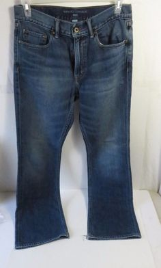 Banana Republic Women's Boot Jeans 32x32 Blue Denim #BananaRepublic #BootCut