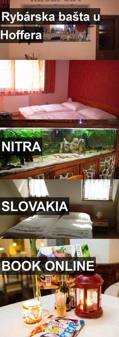 Hotel Rybárska bašta u Hoffera in Nitra, Slovakia. For more information, photos, reviews and best prices please follow the link. #Slovakia #Nitra #travel #vacation #hotel