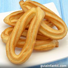 Traditional gluten-free churros for celiac children - Augustin Kinde Celiac Recipes, Gluten Free Recipes, Healthy Recipes, Gluten Free Muffins, Gluten Free Cookies, Empanadas, Sans Gluten Thermomix, Churros Sin Gluten, Inflamatory Foods