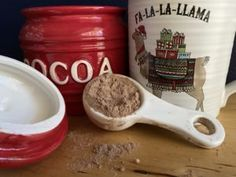 My kids love hot cocoa. I need to amend that. My kids looooooooooove hot cocoa. And frankly, I don't have the time or the inclination to stand at the stove and cook cream and coconut milk and baker's chocolate, and, and, and, etc and so on, for fifteen minutes to make two cups of cocoa. …