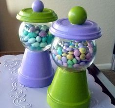 Crafting 101: Candy jars
