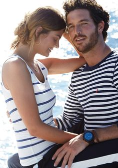 Justice Joslin & Ollie Edwards for NAUTICA SS 2015