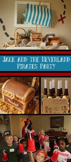 Patty Cakes Bakery: Jake and the Neverland Pirates Birthday Party