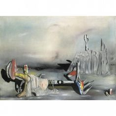 Yves Tanguy - 1942 - Les survenants II