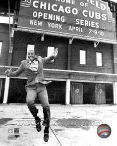 Ernie Banks, Wrigley Field.