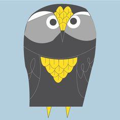 Owl Designed by: Jason Orlando