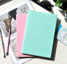 Pastel Yearly Planner at CoolPencilCase.com