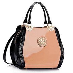 Trendstar Damen Handtaschen Der Frauen Entwerfer Sackt Berühmtheit Kunstleder Patent-Einkaufstasche