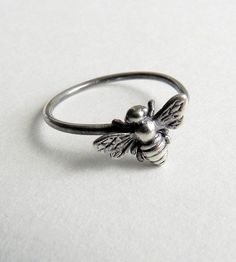 Bee Sterling Silver Ring by Emily Percival Jewelry on Scoutmob