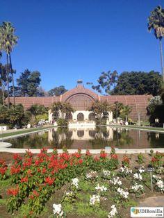 Botanical Building Balboa Park.