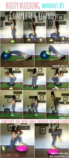 BOOTY BUILDING Workout #3
