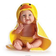 La Newborn Moments Kaczuszka – 43 cm Lalka Bobas Chłopczyk niemowlak z zaznaczoną płcią z Kolekcji Berenguer Boutique 2014.