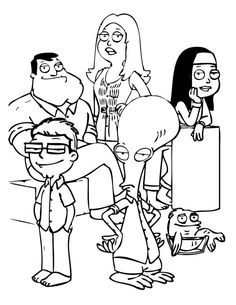 How to draw family guy book