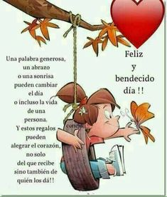 Good Day Quotes : QUOTATION – Image : Quotes Of the day – Description Hermoso! Sharing is Caring – Don't forget to share this quote ! Cute Good Morning Quotes, Good Day Quotes, Good Morning Good Night, Morning Wish, Amazing Quotes, Quote Of The Day, Gods Love Quotes, Happy Everything, Spiritual Messages