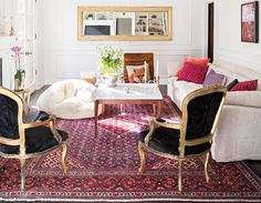 love the texture, color, and pattern mixing. Distinct yet cohesive...
