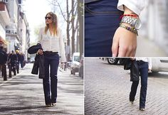 FLARED JEANS (by Sabrina M) http://lookbook.nu/look/3423511-FLARED-JEANS