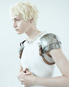 """Vivien Solari in """"Vivien"""" byScott TrindleforTwin Magazine#10, Spring/Summer 2014"""