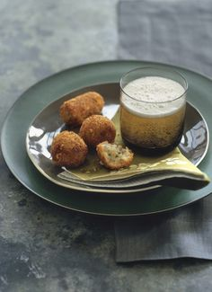 Ham and Manchego Croquetas - I'd serve these tasty bites with a flavored mustard on for dipping.