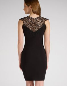Lipsy Lace Ribbed Bodycon Dress From the back Lipsy, Bodycon Dress, Formal Dresses, Lace, Fashion, Dresses For Formal, Moda, Body Con, Formal Gowns