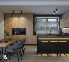 Loft Kitchen, Kitchen Room Design, Modern Kitchen Design, Interior Design Kitchen, Küchen Design, House Design, Industrial Interior Design, Loft Interiors, Cuisines Design