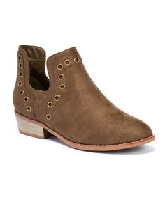 dd53b4b978f1 Loving this Olive Mohave Ankle Boot on #zulily! #zulilyfinds Chelsea Boots,  Clogs
