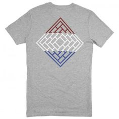 The National Skateboard Co Division T Shirt - Heather Grey
