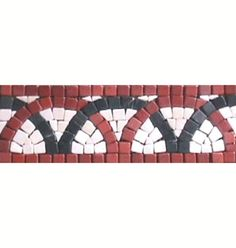 Salerno Series | Mosaic Borders Flooring Motif | Bathroom Tiles | Colourful Tiles | Floor Tiles