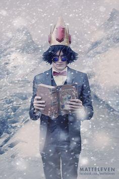 Simon Petrikov / Ice King Cosplay by Matteleven.deviantart.com
