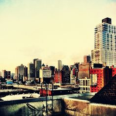 New York City Rooftops by Vivienne Gucwa, via Flickr