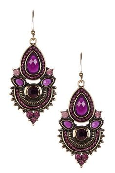 Ganesha Earrings by Fall Accents: Colorful Jewelry on @HauteLook