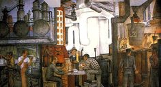 Industries of California mural by Ralph Stackpole, in San Francisco's Coit Tower. Works Progress Administration, Art Deco Posters, Tower Records, Art And Architecture, Photo Galleries, San Francisco, Elephant, California, Gallery