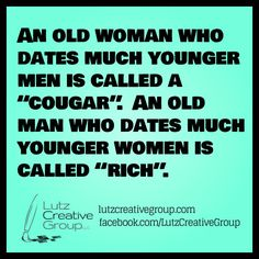 Jokes about a girl dating a younger guy