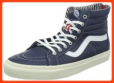 981ab46c1e Vans SK8 Hi Zip CA Varsity Stripe Eclipse Men s Skate Shoes Size 8.5  ( Partner Link)
