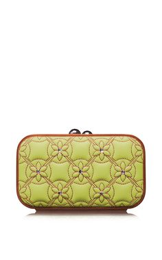 Blossom Quilted Square Bag by Katrin Langer for Preorder on Moda Operandi