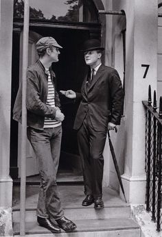 """holdhard: """"Mike Beby and Nicholas Villiers, Pelham Crescent by Patrick Lichfield (1959) """""""